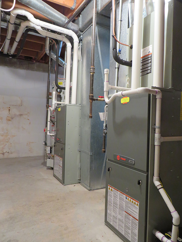 2015 Brick furnace replacement after